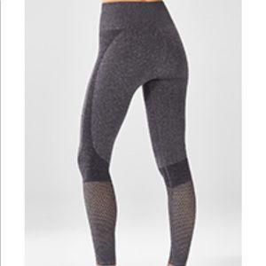 High-Waisted Seamless Mesh Legging